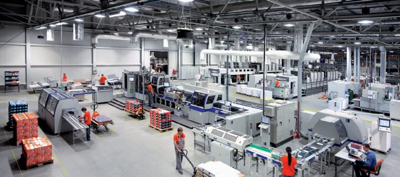 interak printing house - equipment